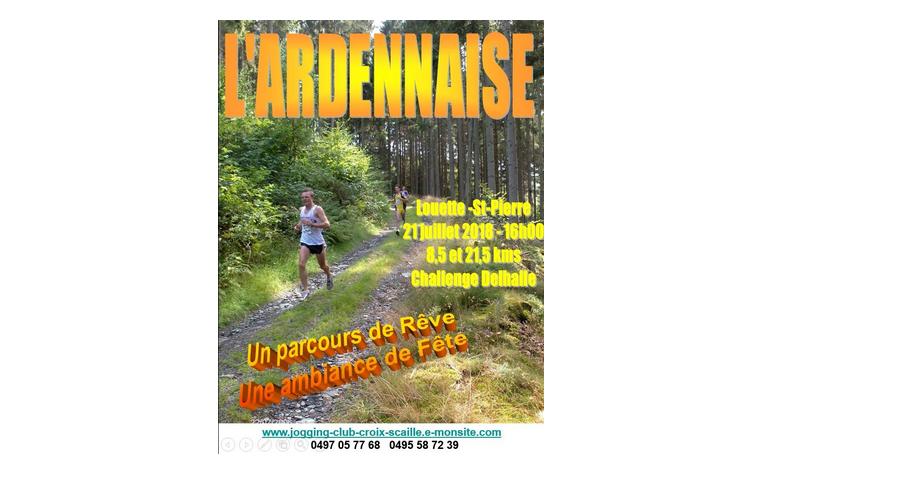 21 juillet: Louette-St-Pierre: L'Ardennaise