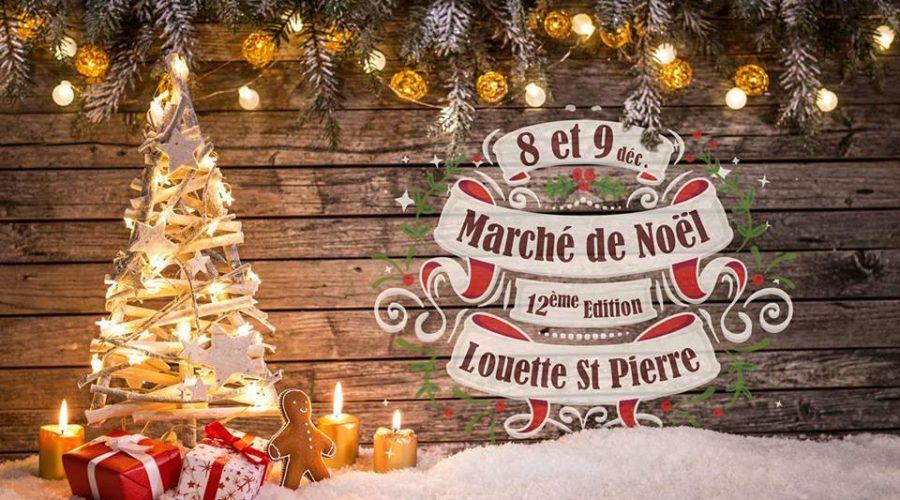 Marché de Noël à Louette-St-Pierre