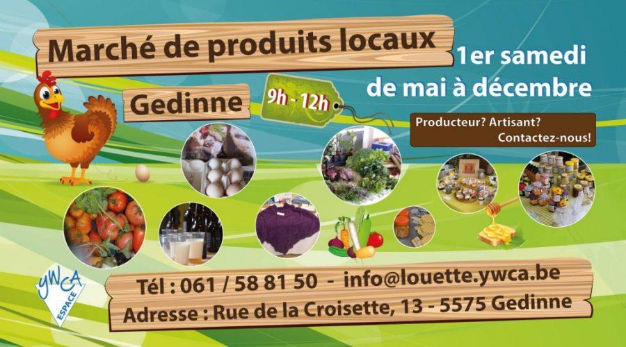 Marché des produits locaux