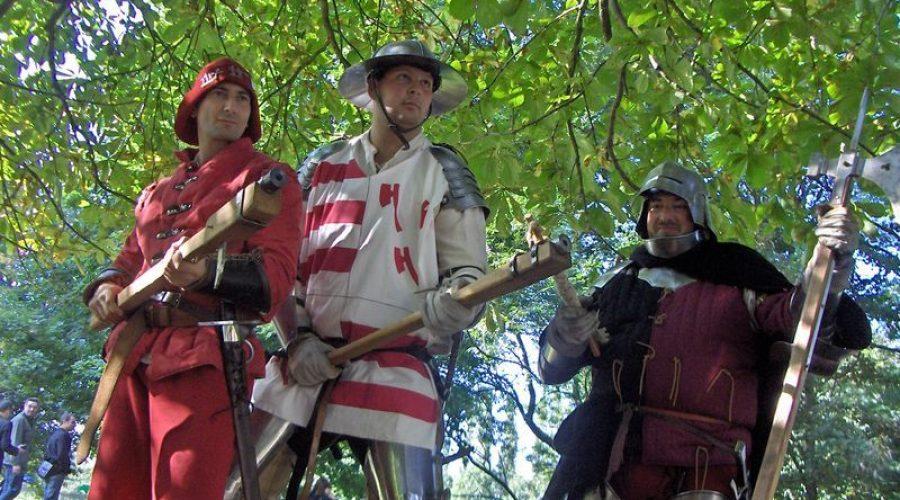 Ces samedi 28 et dimanche 29 avril: Animations médiévales au Parc du Vicinal à Gedinne !