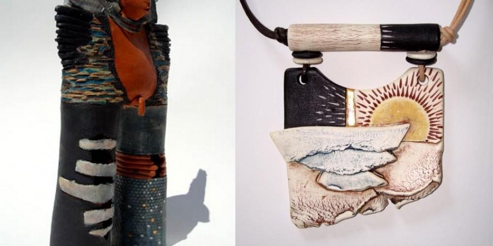 Sculptures et bijoux par Francine Jernander