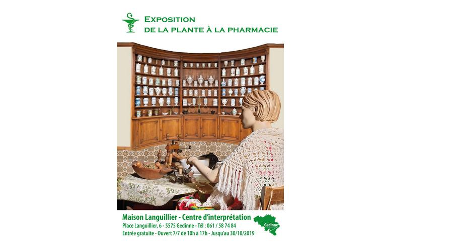 """Expo """"De la Plante à la Pharmacie"""" actuellement au Centre d'Interprétation"""