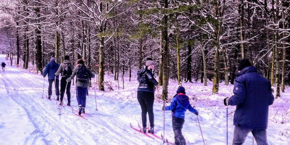 Ski de fond à Gedinne