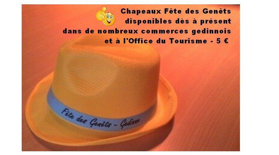 Chapeaux Fête des Genêts